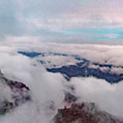 Grand Canyon Above The Clouds Art Print