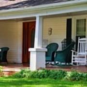 Grand Old House Porch Art Print