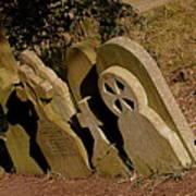 Grave Stones Art Print