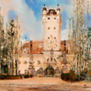 Greillenstein Castle Art Print