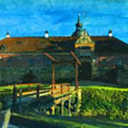 Gripsholm Castle Castle Autumn  Art Print