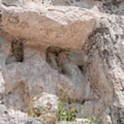Grupo Nohoch Mul At The Coba Ruins  Art Print