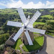 Heage Windmill Art Print