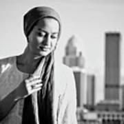 Hijab Fashion Art Print