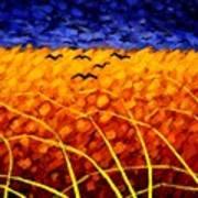 Homage To Van Gogh Art Print