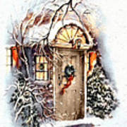 Home For Christmas Art Print