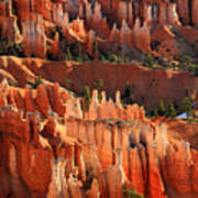 Hoodoos Of Sunset Point In Bryce Canyon Art Print