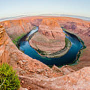 Horseshoe Bend Near Page Arizona Art Print