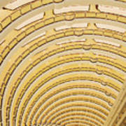 Hotel Atrium In The Jin Mao Tower Print by Jeremy Woodhouse