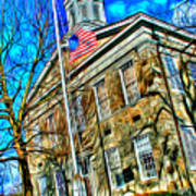 Howard County Courthouse Art Print