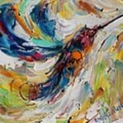 Hummingbird Dance  Art Print