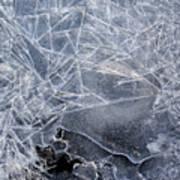 2. Ice Pattern 1, Corbridge Art Print