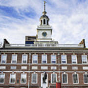 Independence Hall Philadelphia Art Print