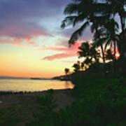 Island Sunset Art Print