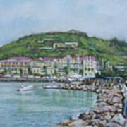 Isle At St Martin St Maarten Art Print
