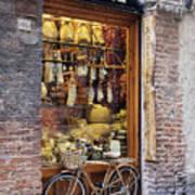 Italian Delicatessen Or Macelleria Art Print by Jeremy Woodhouse