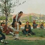 Italian Saltarello Cavallucio Art Print