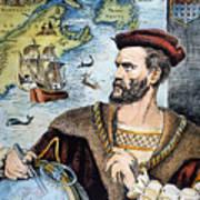 Jacques Cartier (1491-1557) Art Print