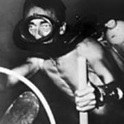 Jacques Cousteau (1910-1997) Art Print