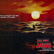 Jaws 2 1978  Art Print