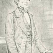 Jefferson Davis Art Print