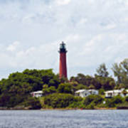 Jupiter Inlet Florida Art Print