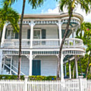 Key West Florida The Conch Republic Art Print
