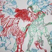Kintu And Nambi Loves Puzzle Art Print