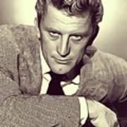 Kirk Douglas, Vintage Actor Art Print