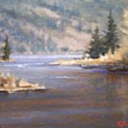 Kootenai River Art Print