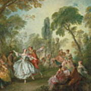 La Camargo Dancing Art Print