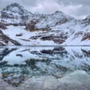 Lake Mcarthur Reflection Panoramic Art Print
