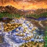 Lake Succession Art Print