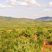 Landscape In Tanzania Art Print