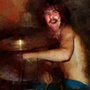 Led Zeppelin. John Henry Bonham. Art Print