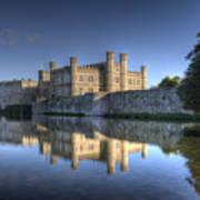 Leeds Castle Reflections Art Print