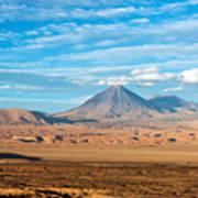 Licancabur Volcano View Art Print