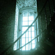 Light Through The Currituck Window - Text Art Print
