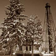 Liston Rear Range Lighthouse De Art Print