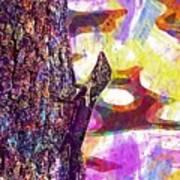 Lizard Animal Reptile Nature  Art Print