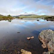 Loch Nah Achlaise Art Print