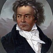 Ludwig Van Beethoven, German Composer Art Print