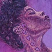 Madame Zasha Art Print by Shahid Muqaddim