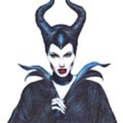 Maleficent  Once Upon A Dream Art Print