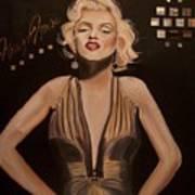 Marilyn Monroe  Art Print by Mikayla Ziegler