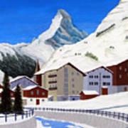 Matterhorn-zermatt Art Print