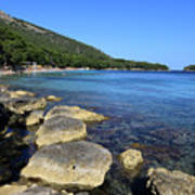 Mediterranean Seascape  Art Print