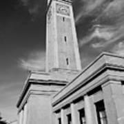Memorial Tower - Lsu Bw Art Print