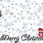 Christmas Card 8 Art Print