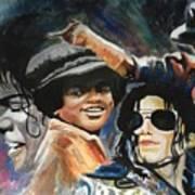 Micheal Jackson Art Print